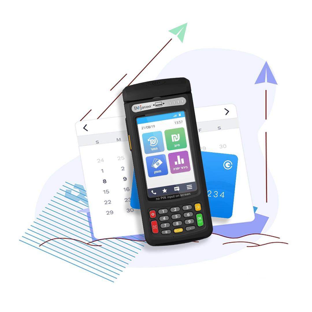 QD מסופוני סליקת אשראי אנדרואיד מתקדמים