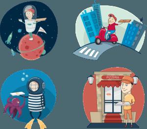 תמכו בעסקים הקטנים - בצעו משלוחים מהעסקים ליד הבית שלכם