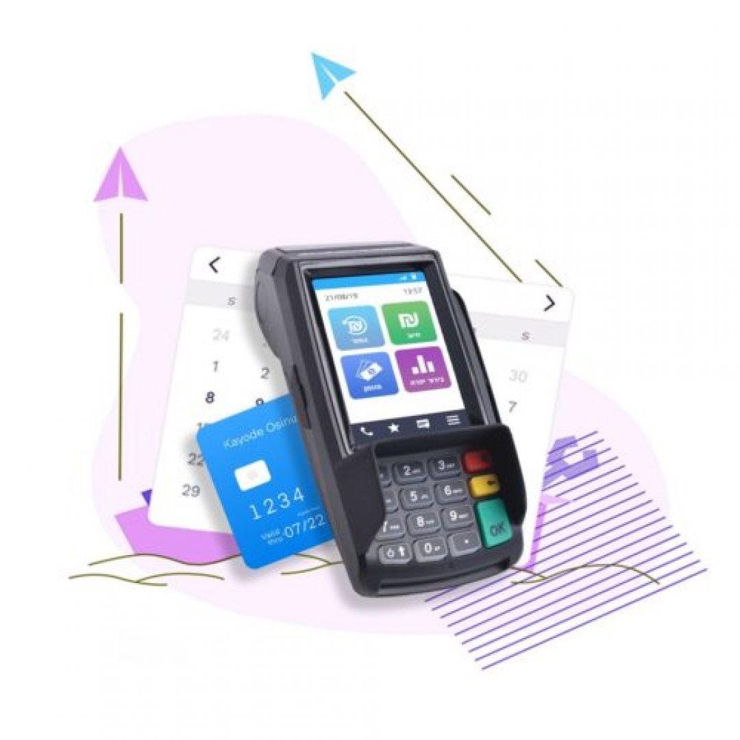 Z9 - מסופון סליקת אשראי נייד עם סוללה ו SIM