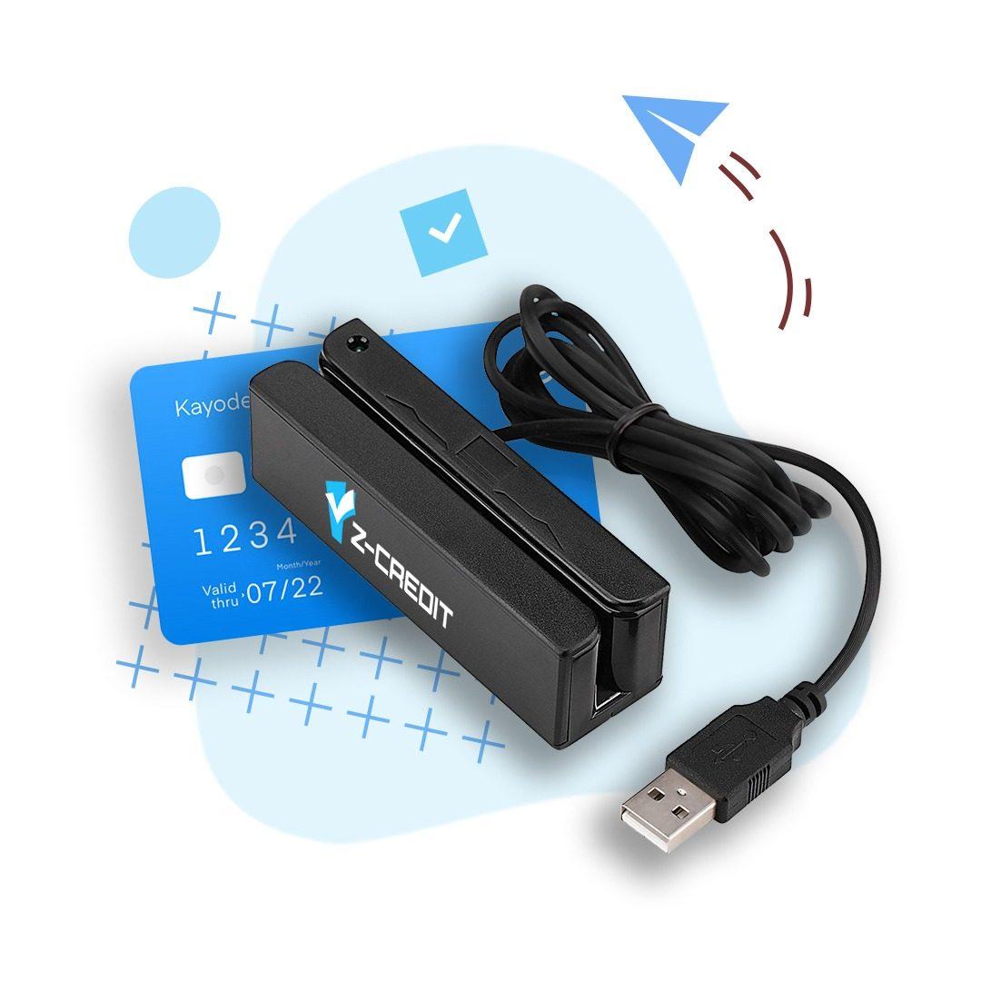קורא כרטיסי אשראי USB